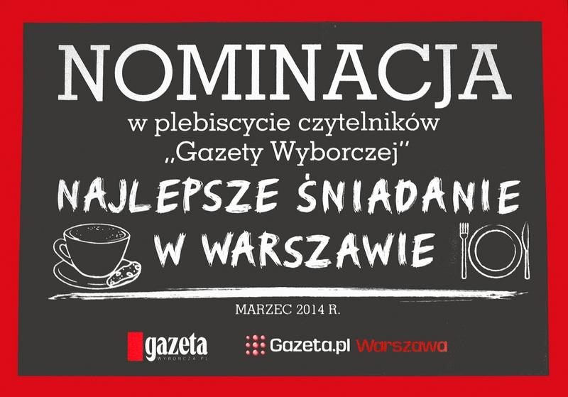 Nominacja w plebiscycie czytelników